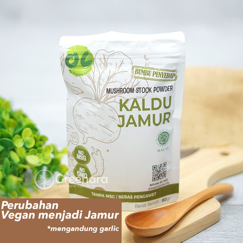 Foto Produk Organic Center Vegan Stock Powder / Kaldu Vegan No MSG dari Greenara
