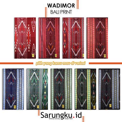 Foto Produk SARUNG WADIMOR BALI PRINT - COVER dari SarungkuID