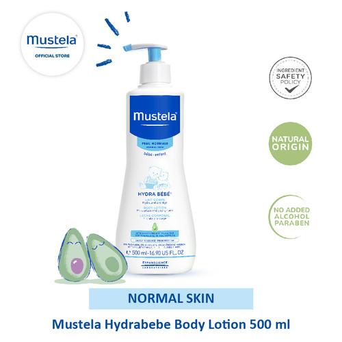 Foto Produk Mustela Hydrabebe Body lotion 500 ml dari Mustela Indonesia