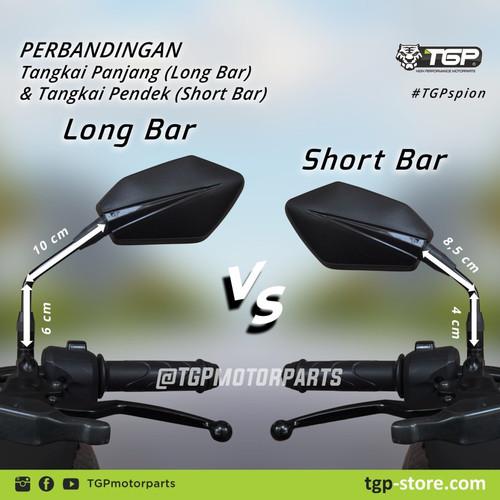 Foto Produk Kaca Spion Tgp Bold Cocok Untuk Semua Motor Honda Kaca Asli New Produk - SHORT BAR dari Lestari Motor 2