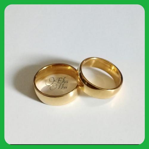 Foto Produk cincin titanium cincin couple single dari eka hss