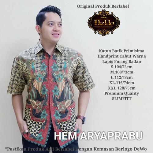 Foto Produk kemeja prabu batik slimfit premium dari Jivan Batik