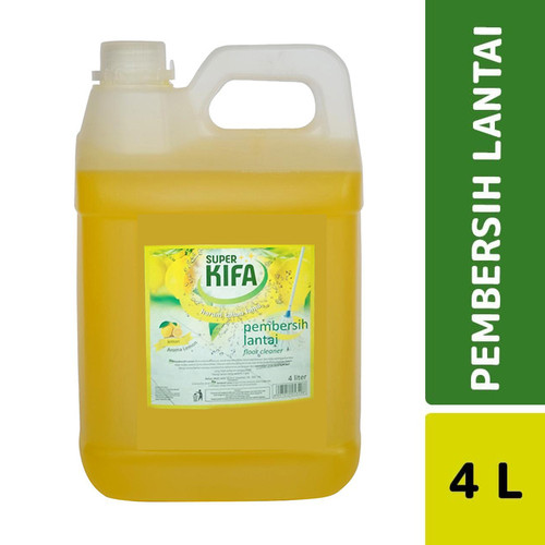 Foto Produk Super Kifa Pembersih Lantai Lemon 4 L dari Mesinlaundry