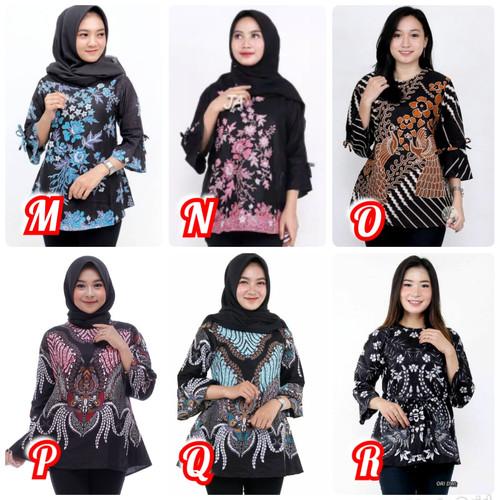 Foto Produk Baju Batik Wanita / Atasan Batik Wanita / Baju Kantor / Atasan Batik dari BATIK MURAHJAYA