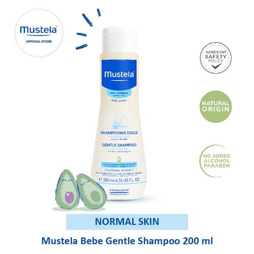 Foto Produk Mustela Bebe gentle Shampoo 200 ml dari Mustela Indonesia