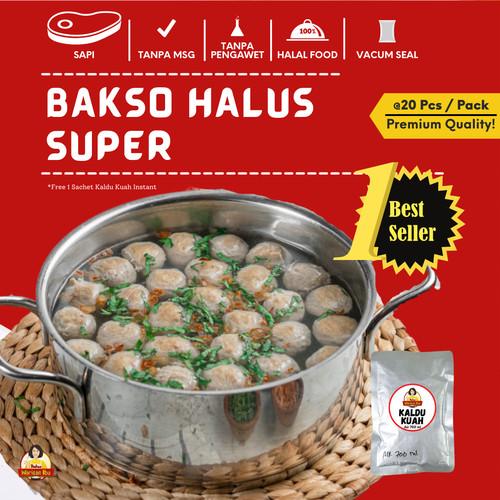 Foto Produk Bakso Warisan Ibu isi 20 Buah Halus (Frozen Food/Bakso Sehat/Cemil) dari Bakso Warisan Ibu JKT
