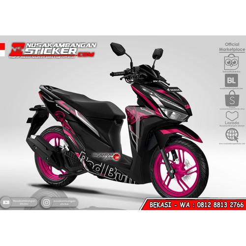 Foto Produk Stiker Vario Redbull Grafis Pink dari Nusakambangan Sticker01
