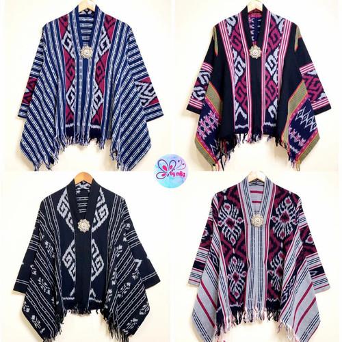 Foto Produk blus kartini tenun ratih premium dari Jivan Batik