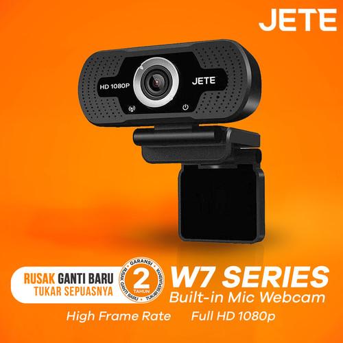 Foto Produk Webcam Jete W7 1080 HD With Mic - Webcam HD - Garansi Resmi 1 Tahun dari JeteIndonesia