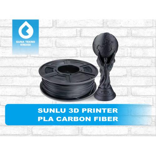 Foto Produk SUNLU 3D PRINTER FILAMENT PLA CARBON FIBER - Hitam dari Gunatek 3D Printer
