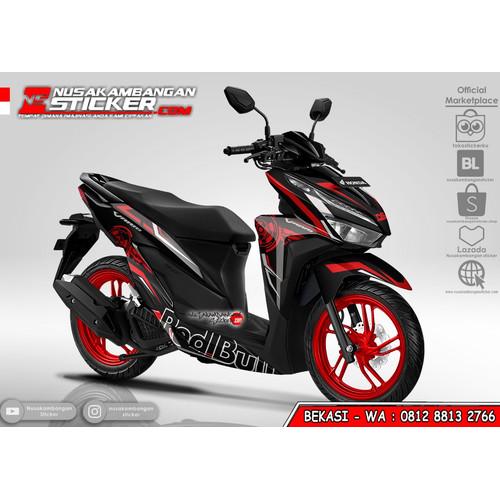 Foto Produk Stiker Vario Redbull Grafis Merah dari Nusakambangan Sticker01