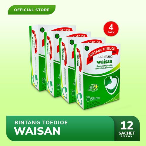 Foto Produk Bintang Toedjoe Obat Maag Waisan 4 Pack (48 Sachet) dari Bintang Toedjoe Official