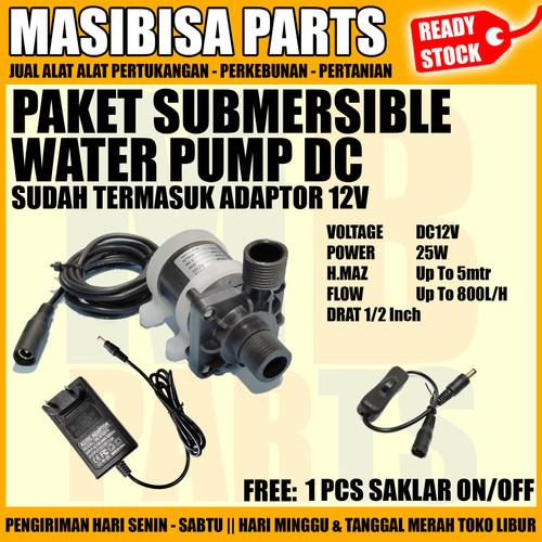 Foto Produk Pompa Serba Guna / Pompa Dinamo Celup DC / Submersible Pump 12V dari MASIBISA PARTS