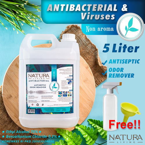 Foto Produk Hand Sanitizer Cair Natura Living 5 Liter dari cshopholic