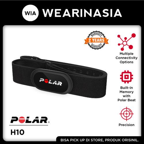 Foto Produk Polar H10 Heart Rate Monitor Sensor Garansi Resmi - Black dari Wearinasia Official
