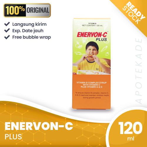 Foto Produk enervon c plus sirup 120 ml / multivitamin anak dari apotekade