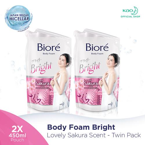Foto Produk BIORE Body foam Cherry Sakura 450ml 2pc dari KAO Official Store