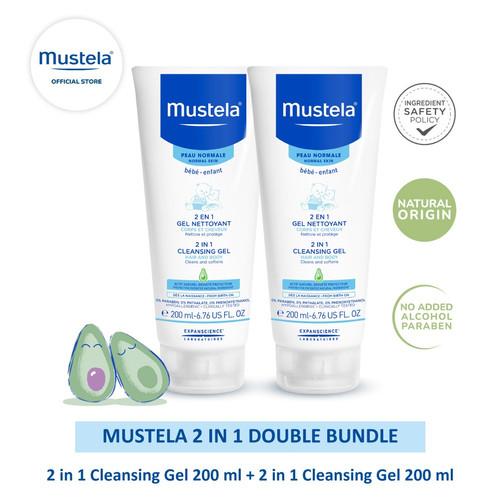 Foto Produk Mustela 2 in 1 Double Bundle dari Mustela Indonesia
