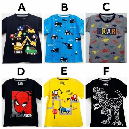 Foto Produk Kaos Anak Laki-Laki Motif Karakter Size 7-10 (7-10 tahun) dari Ai Lu Beauty