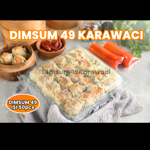Foto Produk DIMSUM 49 KARAWACI ISI 50 PCS dari Dimsum 49 Karawaci