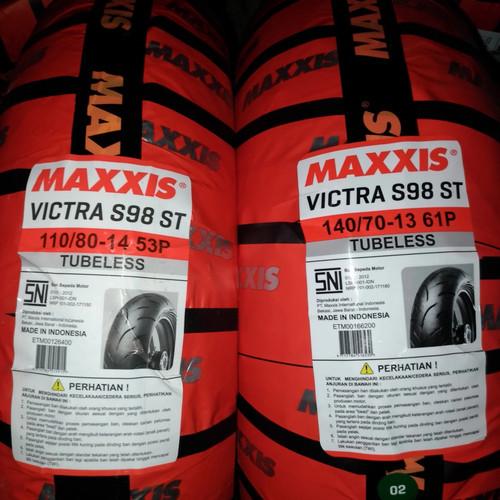 Foto Produk Ban Maxxis 110/80-14 dan 140/70-13 PCX NEW 160 dan ADV 150 dari Sumber Jaya Motor