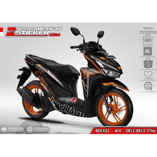 Foto Produk Stiker Vario Redbull Grafis Oren dari Nusakambangan Sticker01