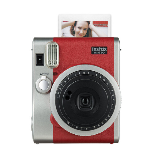 Foto Produk Kamera Fujifilm Instax Polaroid Mini 90 Neo Classic (Brown) - RED dari Milo Shoes
