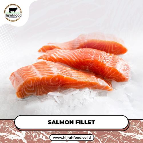 Foto Produk Ikan Salmon Fillet Beku / Atlantic Salmon Frozen Premium - 300 gram dari Hijrahfood Meatshop