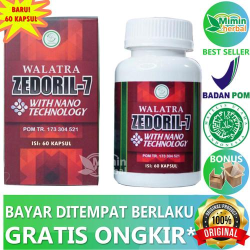 Foto Produk Walatra Zedoril 7 100% Original Dikrim Dari Gudang - 60 kapsul dari MIMIN HERBAL
