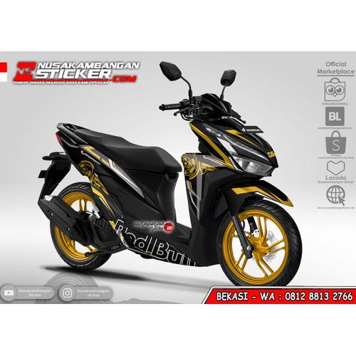 Foto Produk Stiker Vario Redbull Grafis Kuning dari Nusakambangan Sticker01