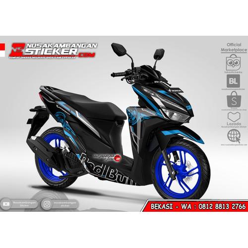 Foto Produk Stiker Vario Redbull Grafis Biru dari Nusakambangan Sticker01