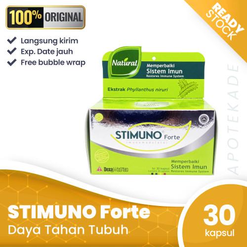 Foto Produk stimuno forte kap isi 30 / daya tahan dari apotekade