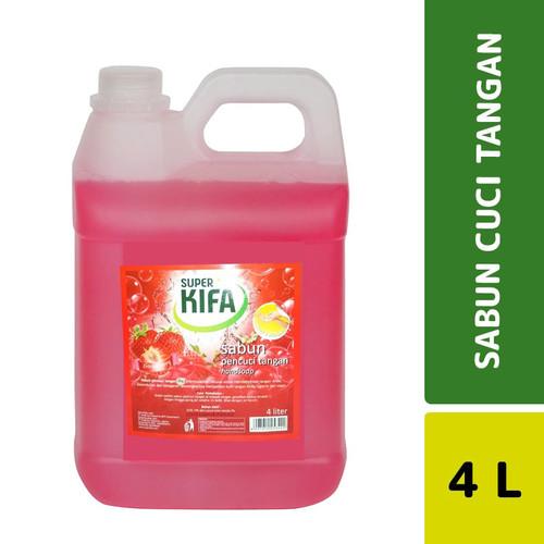 Foto Produk Super Kifa Sabun Cuci Tangan Strawberry 4 L dari Mesinlaundry