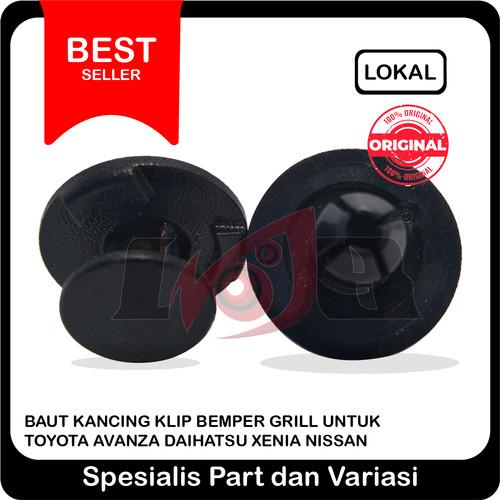 Foto Produk Baut Kancing Klip Bemper Grill Toyota Aavanza Daihatsu Xenia Nissan dari Ledeng Motor Bandung