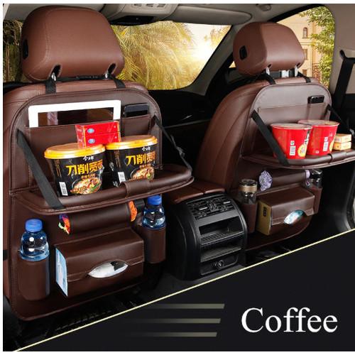 Foto Produk Toyota Agya Car Seat Mobil Storage Table Leather Sepasang dari Sushikumura
