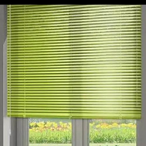 Foto Produk Kris venetian tirai plastik pvc gulung / blind roller uk 60 x 180 cm - Hijau dari DS Official