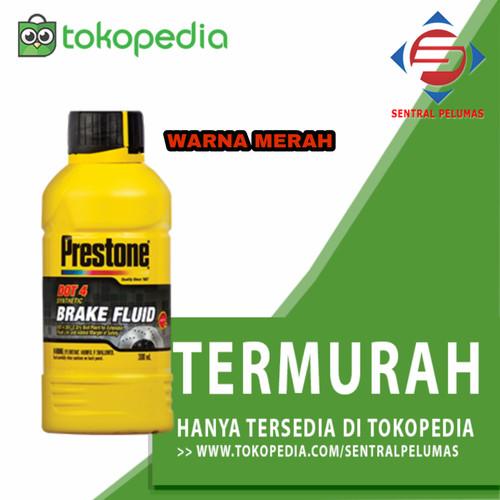 Foto Produk PRESTONE BRAKE FLUID DOT 4 / MINYAK REM (300ML) WARNA MERAH dari SENTRAL PELUMAS