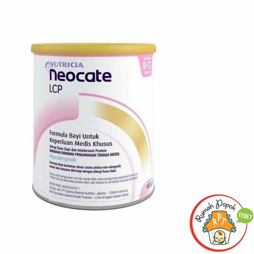 Foto Produk Neocate LCP 400 g Original dari Pabrik langsung dari rumah popok tebet