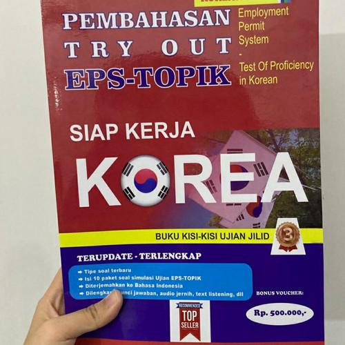 Foto Produk Pembahasan Tryout EPS TOPIK jilid 3 dari Korean First Official