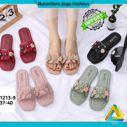 Foto Produk [Terbaru] Sandal Wanita Karet Jelly 1213-9 / Sandal Wanita Import - Mocca, 38 dari Nusantara Jaya Fashion