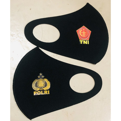 Foto Produk Masker Scuba TNI Polri Logo Kanan Kiri Murah dari reynaldo-tan