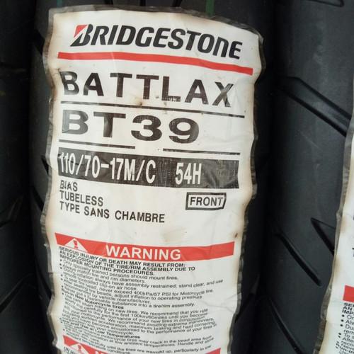 Foto Produk Ban Bridgestone Battlax BT39 110/70-17 110/70 - 17 BT 39 110/70-17 dari Motochiefdotnet