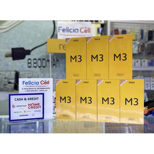 Foto Produk XIAOMI POCO M3 4/64 GB - Garansi Resmi - Ram 4GB - Rom 64GB - BLACK dari FELICIA CELL BANDAACEH