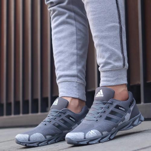 Foto Produk sneakers joging pria adidas springblade  sepatu adidas running - Abu-abu, 39 dari Zamira_sport
