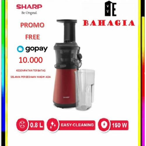 Foto Produk Sharp Slow Juicer EJ-C20Y-RD - Merah dari Bahagia Elektronik