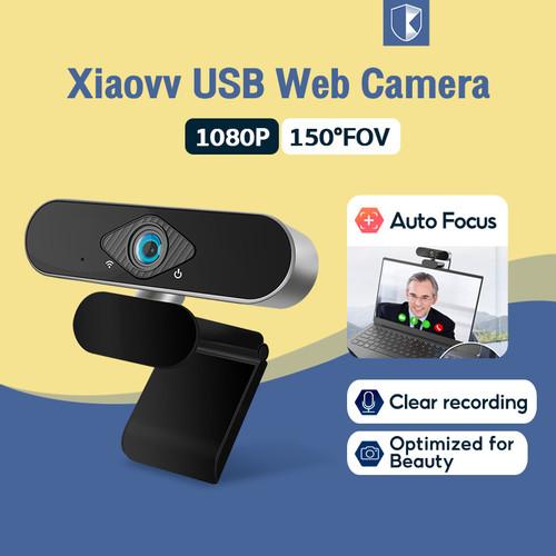 Foto Produk Xiaomi Xiaovv 1080P USB Webcam Camera Full HD IP Camera Webcast Live - Xiaovv Webcam dari Invens