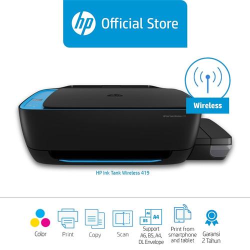Foto Produk HP Ink Tank Wireless 419 [ Z6Z97A ] dari HP Official