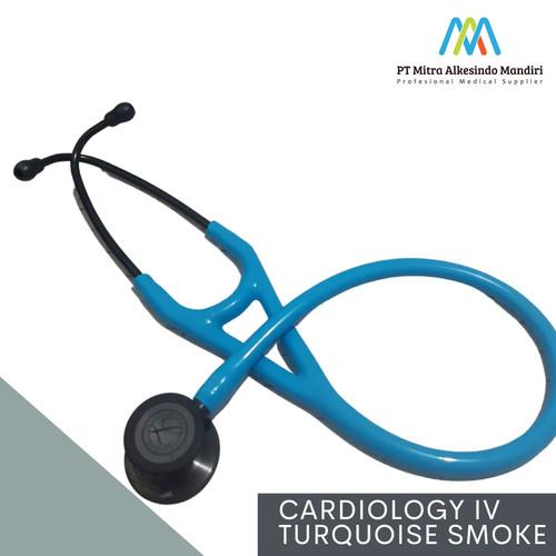 Foto Produk Stethoscope Littmann Cardiology IV Turquoise Smoke dari Mitra Alkesindo