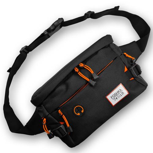 Foto Produk Tas Selempang Pria Foshka Sling Bag Foshka Cordura - Black Terra dari Foshka