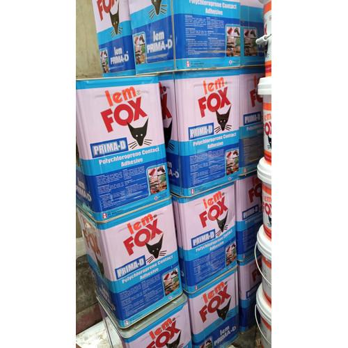 Foto Produk Lem Kuning HPL Furniture Mebel Fox Prima D Blek Pail 14 Kg 14000 gram dari WINSTON SUKSES ABADI